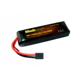 BlackMagic Semi HardCase, 30C 7600mAh 2S