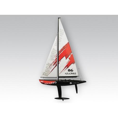 Naulantia 1M Yacht röd