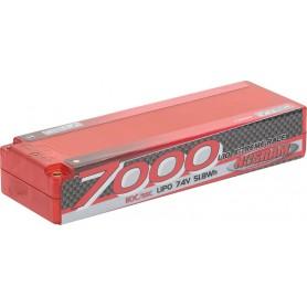 LiPo 7000 1/10 X-treme Race 110C/55C - 7.4V