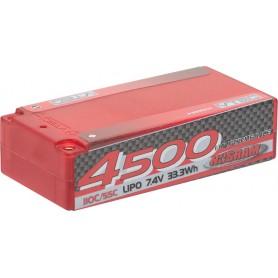 LiPo 4500 1/10 X-treme Race Short SubC 110C/55C 7.4V