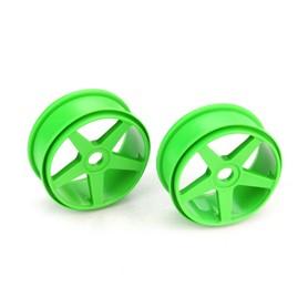 Fälg 5-ekrad 17mm grön