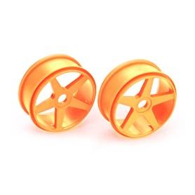 Fälg 5-ekrad 17mm orange