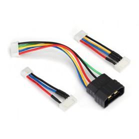 Adapterkabel Li-Po TRX iD-JST XH Set
