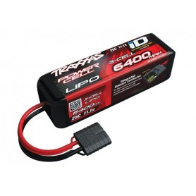 Li-Po Batteri 3S 11,1V 6400mAh 25C iD-kontakt