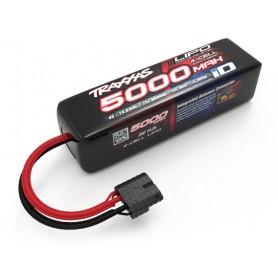 Li-Po Batteri 4S 14,8V 5000mAh 25C iD-Kontakt