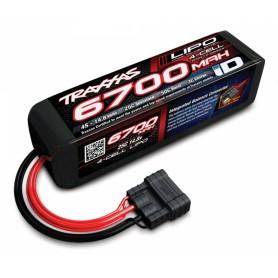 Li-Po Batteri 4S 14,8V 6700mAh 25C iD-kontakt