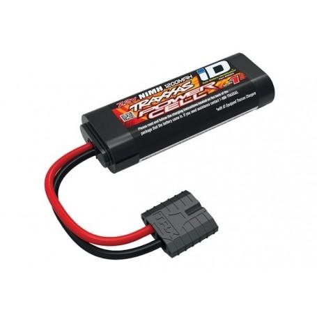 NiMH Batteri 7,2V 1200mAh (2/3A) iD-kontakt