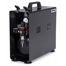 Airbrush Kompressor 1/4HP med 3.5L Tank (0-6BAR)