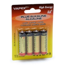 Alkaline Plus Batteri AA 4-pack
