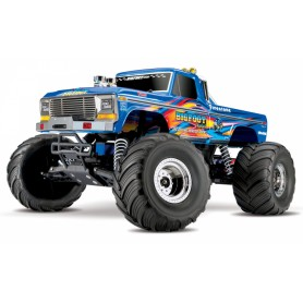 BIGFOOT No.1 Classic 1/10 RTR Blå-X med Batt/Ladd