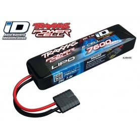 Li-Po Batteri 2S 7,4V 7600mAh 25C iD-kontakt