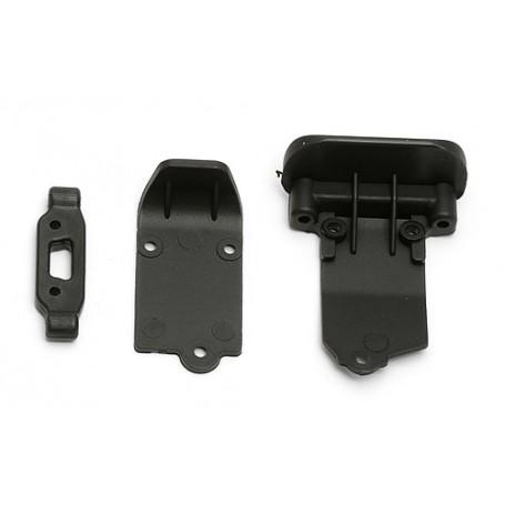 Fäste axel bärarm / bumper RC18T2