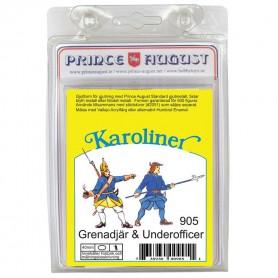 Karoliner Grenadier and Underofficer 40mm Scale Mould