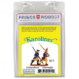 Karoliner Underofficer and Grenadier 40mm Scale Mould