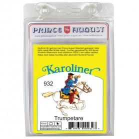 Karoliner Cavalry Trumpeter 40mm Scale Mould