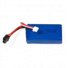 Li-Po Batteri 2S 7,4V 1500mAh T-kontakt