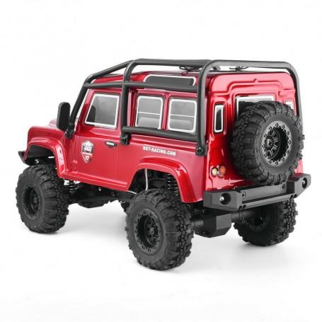 1/24 Mini Crawler 4WD 2.4G RTR - röd