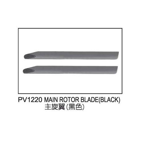 Huvud rotorblad svart, E325