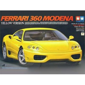 Ferrari 360 Modena Yellow Version 1/24
