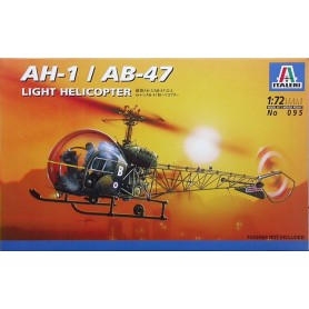 AH-1/AB-47 Light Helicopter 1/72