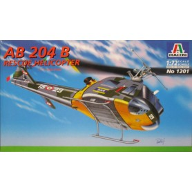 AB-204 B Rescue Helicopter 1/72